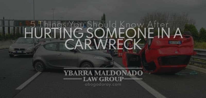 5 Things You Should Know After Hurting Someone In A Car Wreck